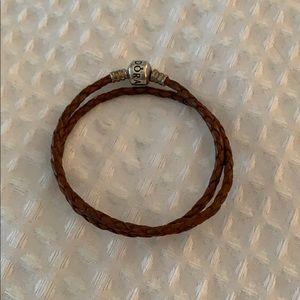 Pandora Jewelry - Pandora double leather bracelet